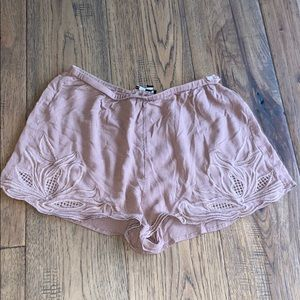 Brown Kendall & Kylie Shorts